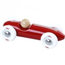 Voiture grand prix vintage rouge