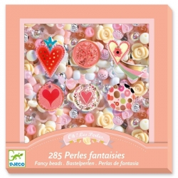Perles fantaisies - Coeurs