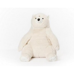 Peluche ours polaire assis Victor