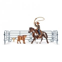 Farm World - Capture au lasso avec un cowboy