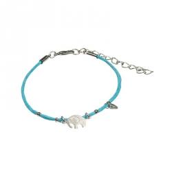 Bracelet Flat éléphant