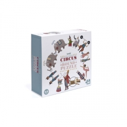 Puzzle 36 pièces - Circus