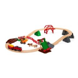 Circuit de la ferme et locomotive à pile