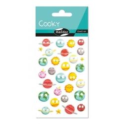 Cooky stickers - Planètes