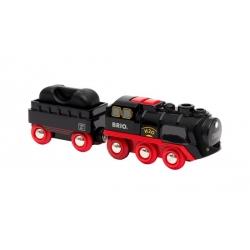 Locomotive à piles à vapeur