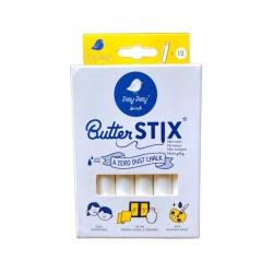 ButterStix - Set de 16 craies blanches