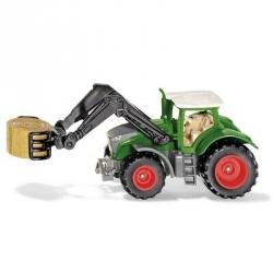 Siku G - Tracteur Fendt avec pince à balles