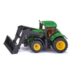 Siku J - Tracteur John Deere avec chargeur frontal