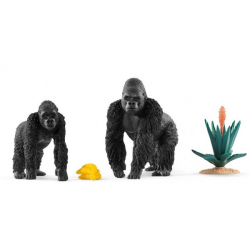 Wild Life - Gorilles en quête de nourriture