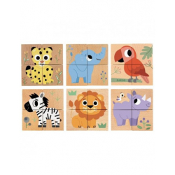 Cubes animaux - Wild & Co