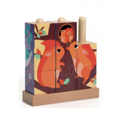 Cubes puzzles - Puzz-Up Forest