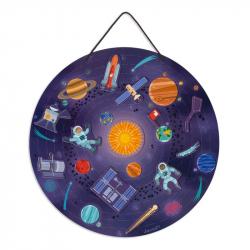 Carte magnétique du système solaire