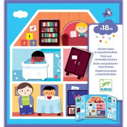 Créer avec des stickers - La maison