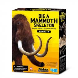 Déterre un squelette de dino - Mammouth