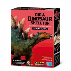 Déterre un squelette de dino - Stégosaure