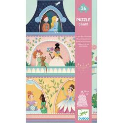 Puzzle géant - La tour des princesses