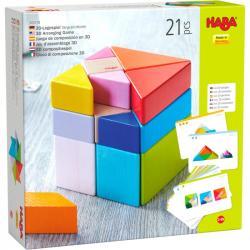 Jeu d'assemblage en 3D - Cube tangram