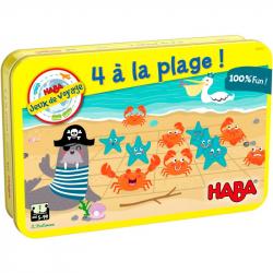 Jeux de voyage - 4 à la plage