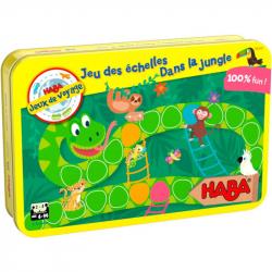 Jeux de voyage - Jeu des échelles dans la jungle