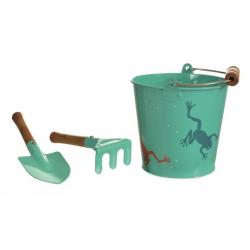 Set d'outils de jardinage grenouille