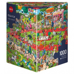 Puzzle 1000p - Dog show
