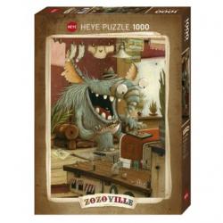 Puzzle 1000p Zozoville - Laundry day