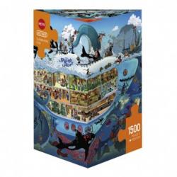 Puzzle 1500p - Submarine fun