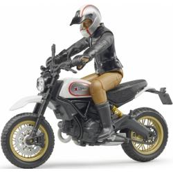 Scrambler Ducati désert avec chauffeur