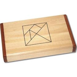 Tangram double en bois