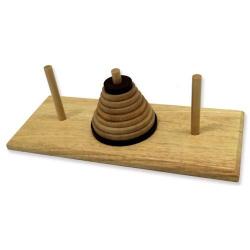 Tour d'Hanoï en bois