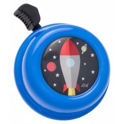 Sonnette - Fusée bleue