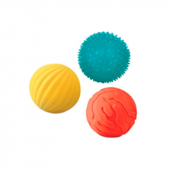 Set de 3 balles sensorielles