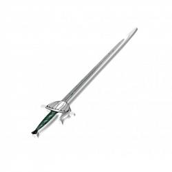 Épée de chevalier vert