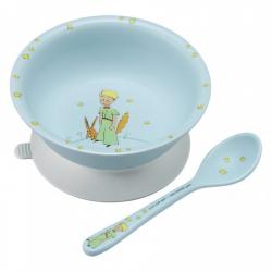 Le Petit Prince - Bol ventouse avec cuillère