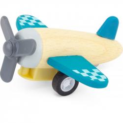 Avion en bois à friction