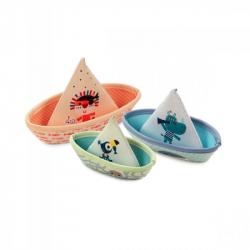 Trois bateaux - Jungle