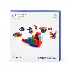Pixio - Cubes magnétiques Bright Animals