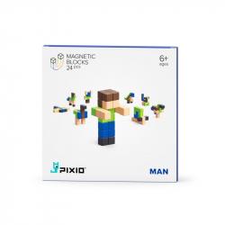 Pixio - Cubes magnétiques Man