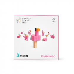Pixio - Cubes magnétiques Flamingo