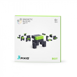 Pixio - Cubes magnétiques Bot