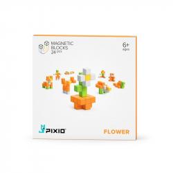 Pixio - Cubes magnétiques Flower