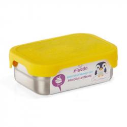 Lunch box en acier inoxydable jaune