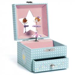 Boîte à bijoux musicale - Délicate ballerine