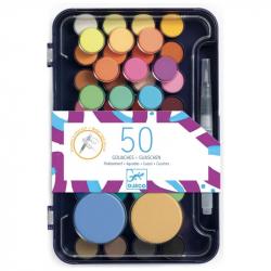 Gouache 50 couleurs