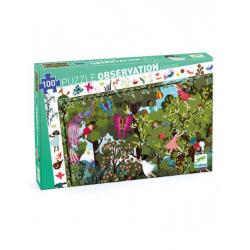 Puzzle observation 100 pièces - Jeux au jardin