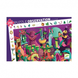 Puzzle observation 200 pièces - Dans un jeu vidéo