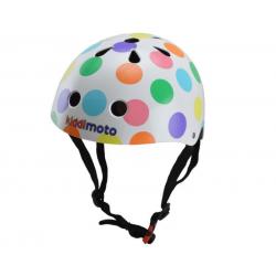 Casque de vélo - Kiddimoto points de couleurs S 48/53