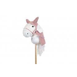 Accessoires pour cheval bâton - Rose