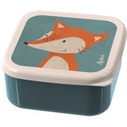 Set de 3 boites à goûter renard
