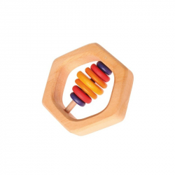 Hochet hexagone